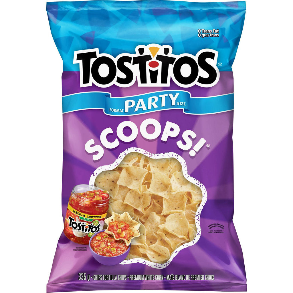 TOSTITOS PARTY SCOOPS	335 G