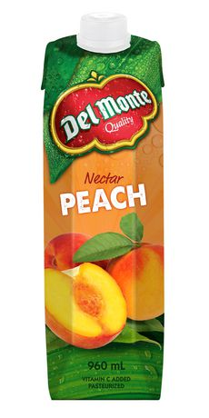 Delmonte Peach Nectar	960 Ml