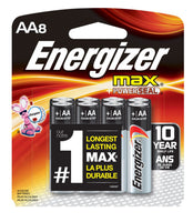 Energizer AA Batteries 8pk