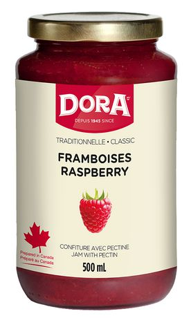 Dora Raspberry Jam With Pectin		500mL