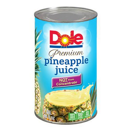 DOLE 100% PINEAPPLE JUICE	1.36L