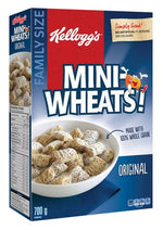 Kellogg's Mini-Wheats Cereal, Original 700g