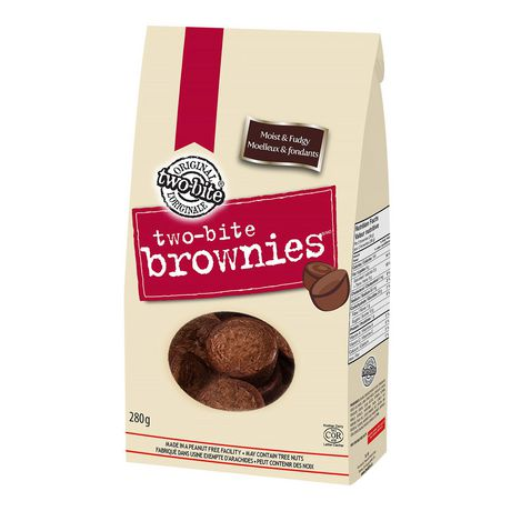 HS TWO BITE BROWNIES 280 G