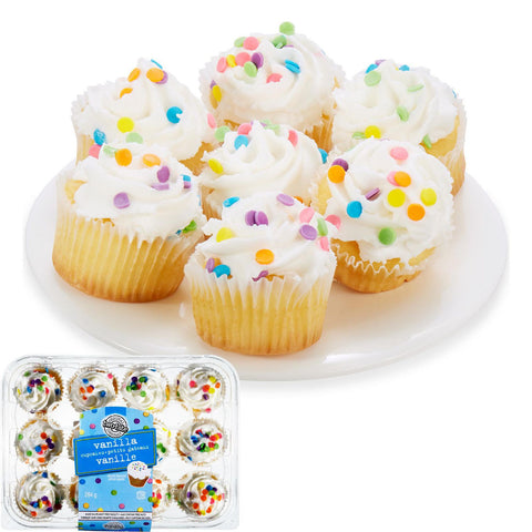 TWO BITE VANILLA CUP CAKES 284 G