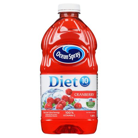OCEANSPRAY DIET CRANBERRY	1.89L