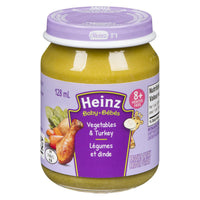 Heinz Baby, Vegetables & Turkey 128mL