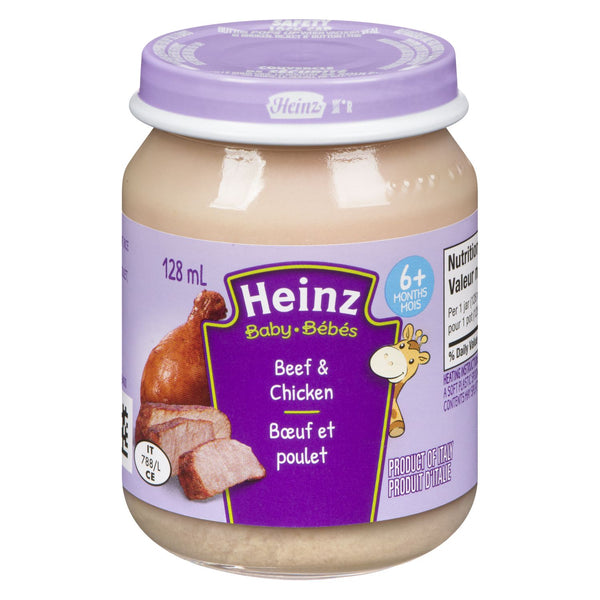 Heinz Baby, Beef & Chicken Food Jar 128mL