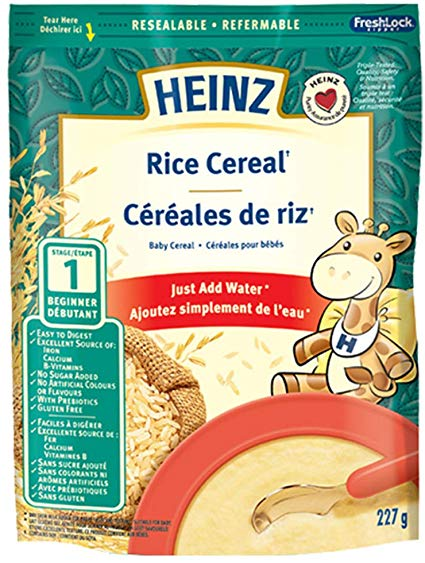 Heinz Infant, Rice Cereal 227g