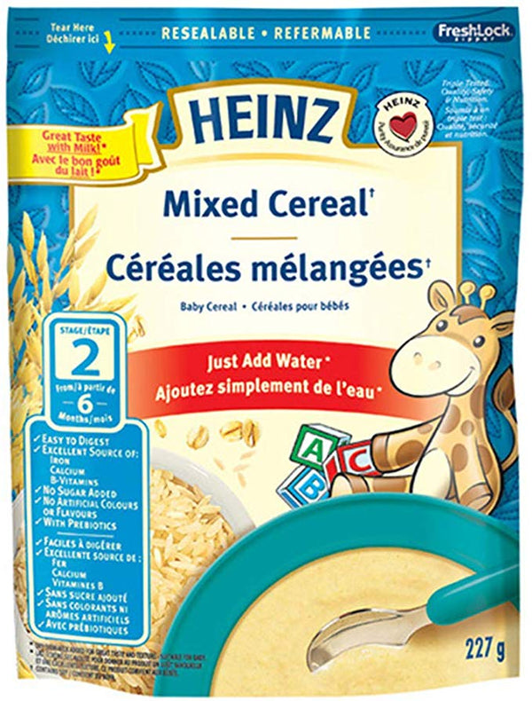 Heinz Baby, Mixed Cereal With Milk 227g