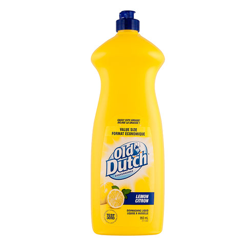 OLD DUTCH LEMON DISHWASHING LIQUID 950 ML