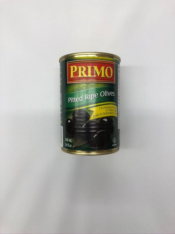 Primo Pitted Ripe Olives 14 Oz