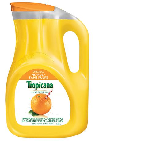 TROPICANA ORIG 100% PURE JUICE 2.63 LIT