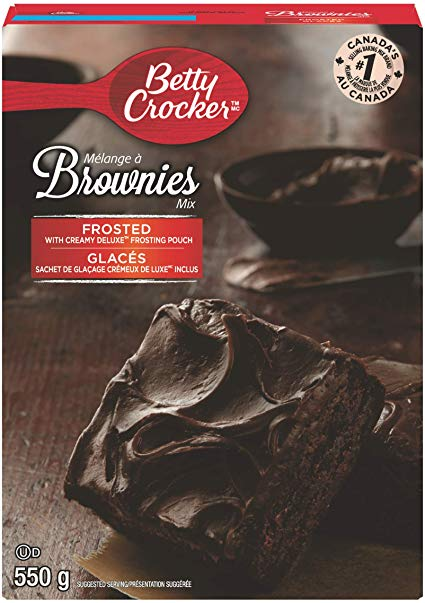 Betty Crocker Frosted Brownie Mix 550g