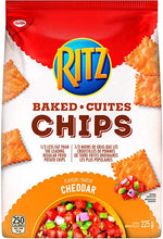 Christie Ritz Baked Chips, Cheddar	225g