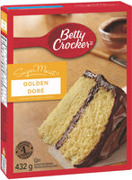 Betty Crocker Supermoist Cake Mix, Golden 432g