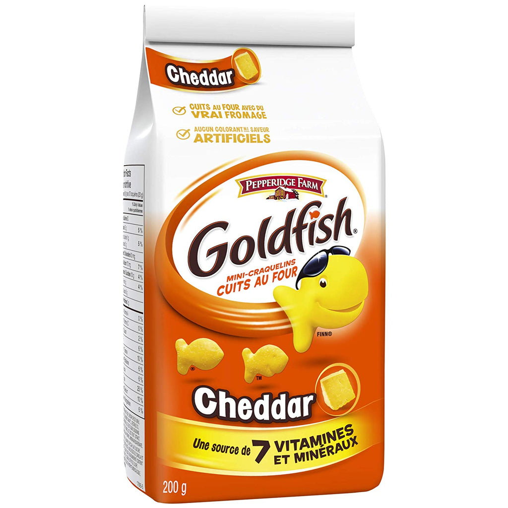 PEPPERIDGE FARM GOLDFISH CHEDDAR	200G