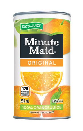 Minute Maid Original Orange Juice 295 mL