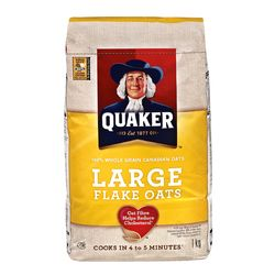 Quaker Large Flake Oats 1Kg