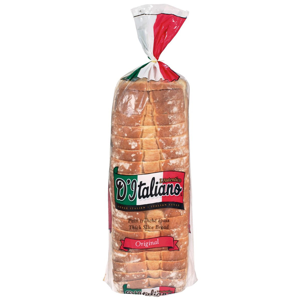 D'ITALIANO THICK SLICE BREAD 675 G