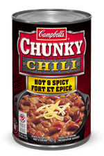 Campbell's Chunky Chili, Hot And Spicy 425g