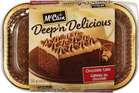 McCain Chocolate Deep & Delicious Cake 510 g