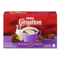 Carnation Hot Chocolate, Marshmallow	10x25g