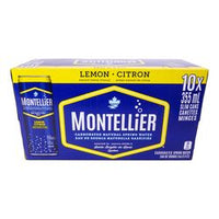 Montellier Lemon Carb Water 10X355 Ml