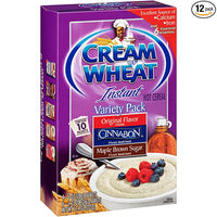 Cream Of Wheat Ready To Serve Oatmeal Variety Pack 322g