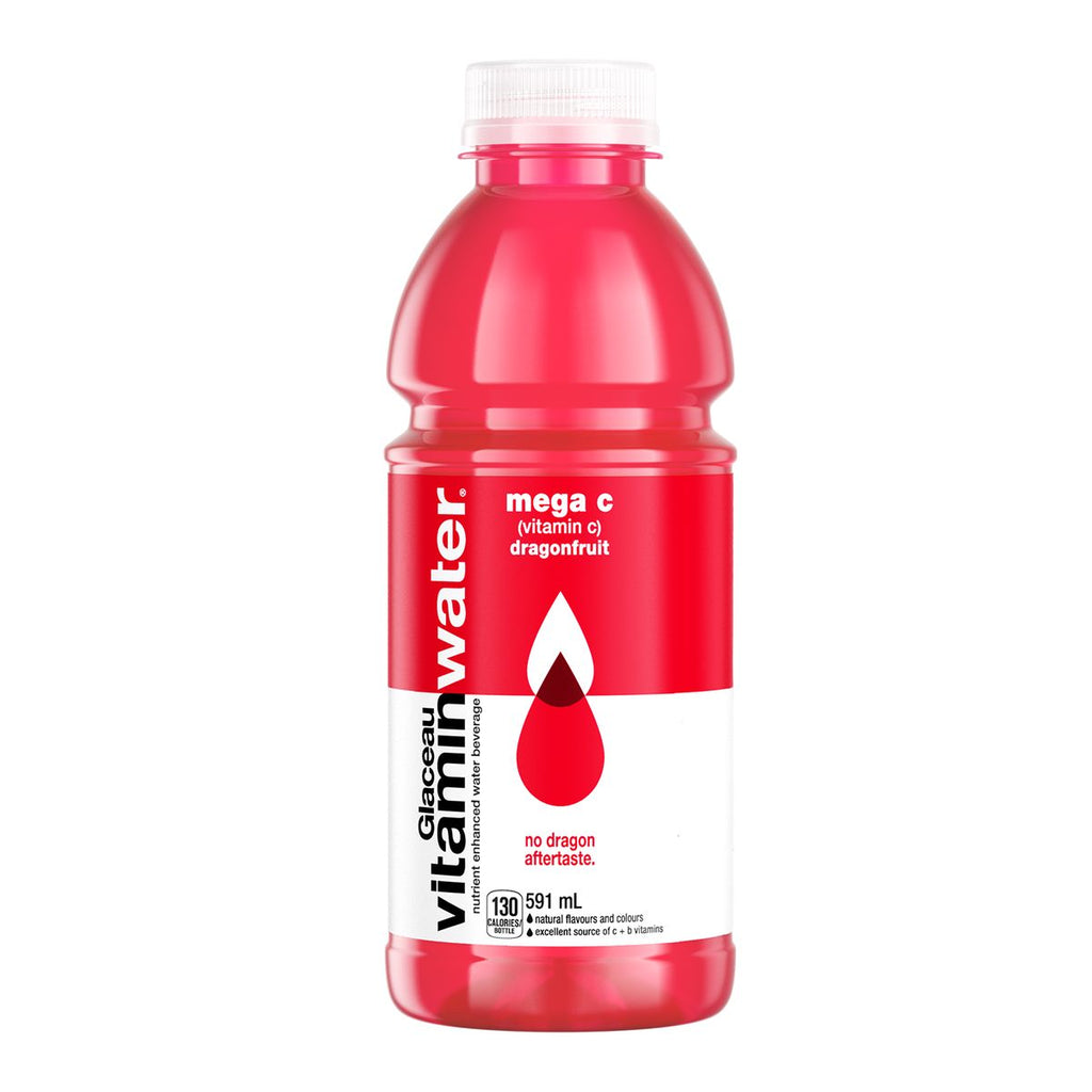 GLACEAU MEGA C DRAGONFRUIT VITAMIN WATER	591 ML