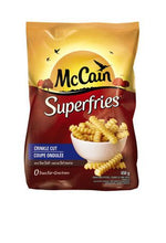 Mccain Superfries Crinkle Cut 650G