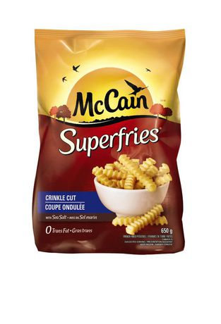 McCain® Superfries® Crinkle Cut 650g