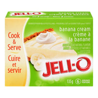 Jello Banana Cream Pie Filling 135 G