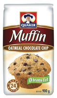 Quaker Oatmeal Muffin Mix, Chocolate Chip 900g