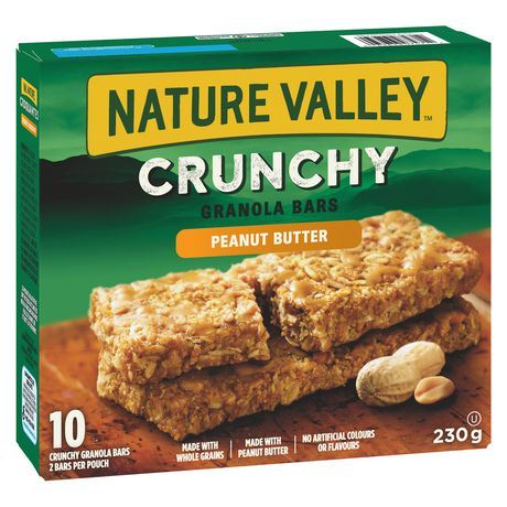 Nature Valley Crunchy Granola Bar, Peanut Butter 210g