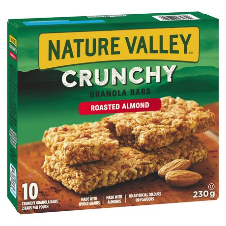 Nature Valley Crunchy Granola Bar, Roasted Almond 210g