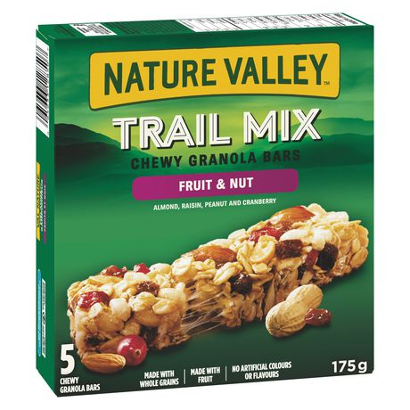 Nature Valley Fruit & Nut Granola Bars, Trail Mix 175g