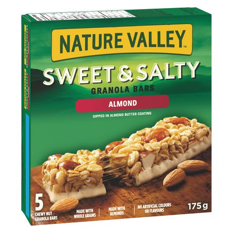 Nature Valley™ Sweet & Salty Almond Granola Bars 5 bars x 35 g, 175 g