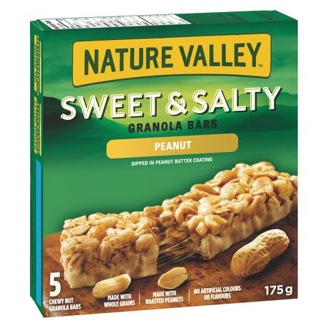 Nature Valley™ Sweet & Salty Peanut Granola Bars 5 bars x 35 g, 175 g