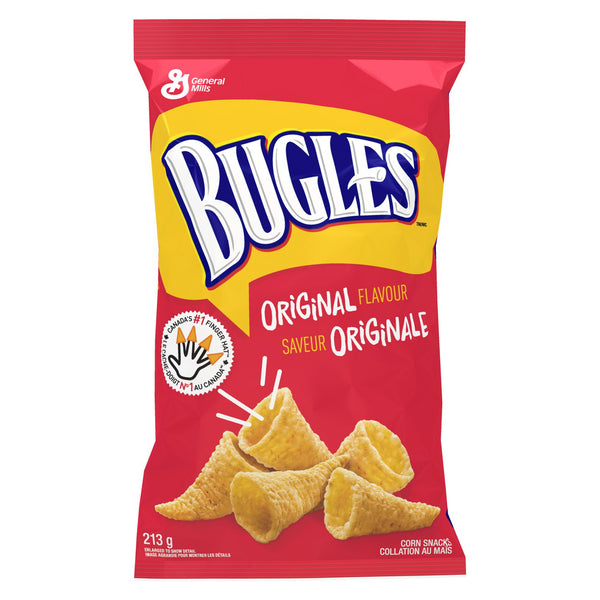Bugles Corn Chips, Original	213g