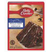 Betty Crocker Supermoist Cake Mix, Devils Food 432g