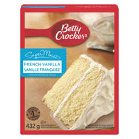 Betty Crocker Supermoist Cake Mix, French Vanilla 432g