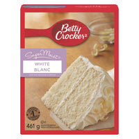 Betty Crocker Supermoist Cake Mix, White 461g
