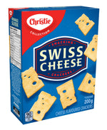 Christie Swiss Cheese Crackers	200g