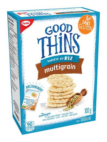 Christie Good Thins Rice Multigrain Crackers 100 g