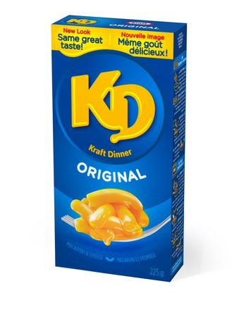 Kraft Dinner Original Macaroni & Cheese 12X255G