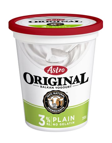 Astro Original Balkan 3% Yogurt, Plain 750g