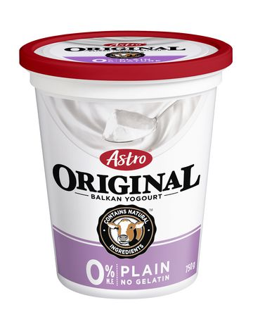 Astro Original Balkan 0% Yogurt, Plain 750g
