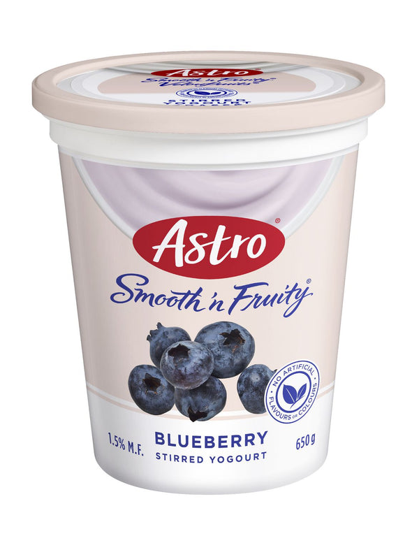 Astro Smooth & Fruity, Blueberry 650g
