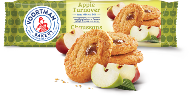 VOORTMAN APPLE TURNOVERS	300 G