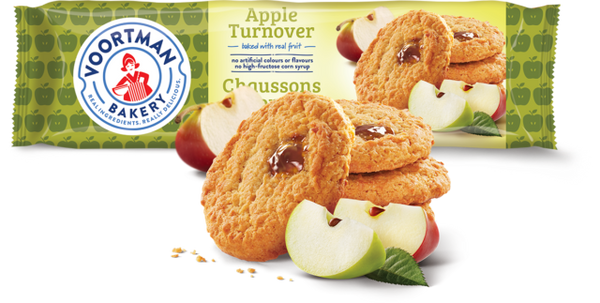 Voortman Turnovers, Apple	300g